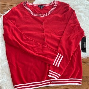 NWT red sweater